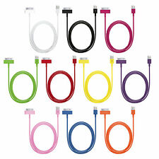 USB Sync Data Charging Charger Cable Cord for Apple iPhone 4 4S 3S iPad 3 2 1