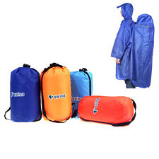 Outdoor Camping Hiking Backpack Rain Cover One-piece Raincoat Poncho Rain Cape