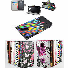 Flip Leather Wallet Cover Stand Phone Pouch Case For Samsung Galaxy S5 S V i9600