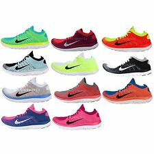 Nike Wmns Free Flyknit 4.0 2014 Barefoot Lightweight Womens Running Shoes Pick 1