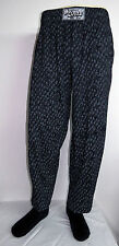 vtg BLACK GRAY Native Swirl HAMMER PANTS 80s commando parachute funny party mc