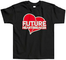 Future Heartbreaker Kids Toddler T-Shirt Tee Valentines Day Heart Cute