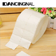 500/1000Pcs 1 Roll Wipes Pads Paper Nail Art Tips Polish Manicure Remover White