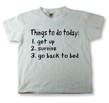 Kids Funny Sayings T Shirts Things To Do Today Funny Images Tees