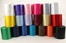 Polyester Satin Ribbon 100mm wide for Sashes Banners Crafts Sewing