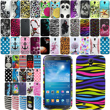 For Samsung Galaxy Mega 6.3 I527 I9200 I9205 Rubberized PATTERN HARD Case Cover