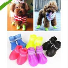 Fashion Pet Shoes Waterproof Booties  Dog Rain Boots Rubber Colorful Shoes  LD