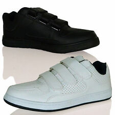 MENS TRAINERS SNEAKERS VELCRO RUNNING GYM SPORTS CASUAL WALKING NEW SIZE LOW TOP