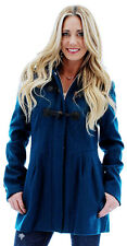 Jessica Simpson Women's Wool Removable Hood Toggle Coat Jacket