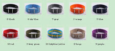 18MM Nylon Watch band watch strap colorful fashion watch band 10color available