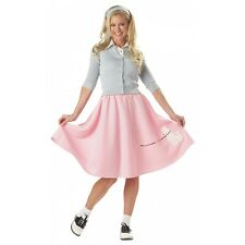 Poodle Skirt Costume Adult Womens 1950s Halloween Fancy Dress