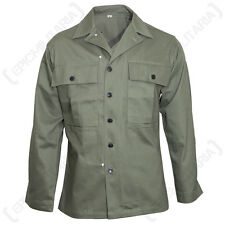 US AMERICAN ARMY GREEN HBT JACKET - WW2 Repro All Sizes Military Coat