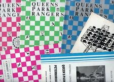 QPR 1960s HOME programmes choose from list FREE UK P&P