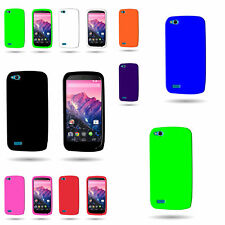 For BLU Life Play - High Quality Shockproof Rubber Silicone Flexbiel Soft Case