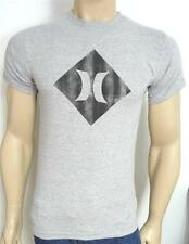 Hurley One & Only Major League Diamond Tee Mens Classic Fit Gray T-Shirt NWT
