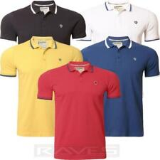 Mens Pique Polo Shirt T-shirt Dissident Short Sleeved Summer Cotton 1X4397