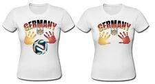 Hands On Brest Germany Save Football Tight Fit T-shirt German World Cup