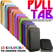 PU LEATHER SLIDE IN PULL TAB CASE FOR SAMSUNG GALAXY PLAYER 3.6