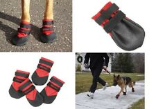 DOG BOOTS Ultra Paws RUGGED ALL Weather Booties for Snow Mud Hot Asphalt SM