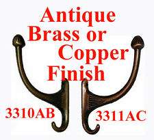 Hall Tree, Coat Hooks, Costumer Hooks, 2 Finishes. Sold Separately or in Pairs