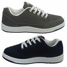 MENS GYM CASUAL SMART STYLE TRAINERS BOOTS GENTS PLIMSOLLS SKATEBOARD SHOES SIZE