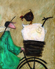 SAM TOFT - TAKING THE GIRLS HOME ART PRINT WITH FRAME OPTIONS OR AS CANVAS PRINT