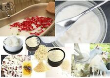 NATURAL ADDITIVES: For Soaps/Bath Choose: Goats Milk,Shea,Exfoliant,Oil,Butters