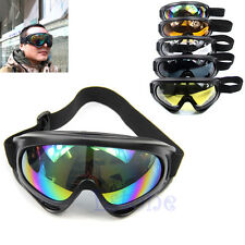 Snowboard Dustproof Sunglasses Motorcycle Ski Eye Glasses Lens Frame Goggles New