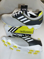 NEW Adidas Adizero Tour Golf Shoes, PICK A SIZE, Light Grey/White/Graphite, $180