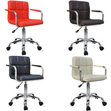 Quality Design Swivel PU Leather Office Furniture Computer Desk Office Bar Chair