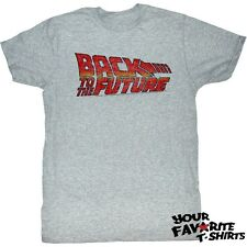 Back To The Future Logo B2F Officially Licensed Adult Shirt S-2Xl
