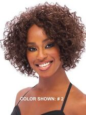OUTRE QUICK WEAVE GLADYS SHORT TIGHT CURLY STYLE HALF WIG 3/4 WIG