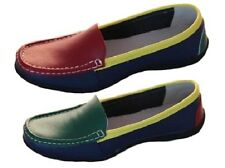 Ladies Leather Shoes Flat Cherry Fighter Leather Multi Coloured Size 5-10 Shoe