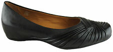 EARTHIES VANYA WOMENS/LADIES LEATHER COMFORT SHOES/BALLET FLATS/CASUAL/WEDGES