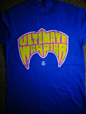 The Ultimate Warrior Distressed Logo Wrestling WWE T-Shirt
