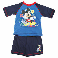 (Free PnP) Disney Mickey Mouse Kids/Boys Oh Boy Design Pyjamas/Nightwear Set