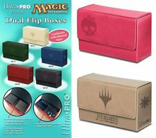 PICK A COLOR - Ultra Pro MANA DUAL FLIP DECK BOX - Magnetic Land Symbol Duel MTG