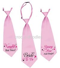 Sexy Large Pink Ladies Tie Hen Nights Fancy Dress Party Girls Night Out Naughty