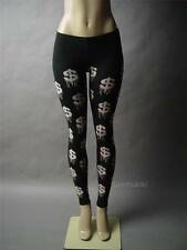 Black Money Dollar Sign Symbol Graffiti Novelty Graphic Print 41 mv Leggings S M