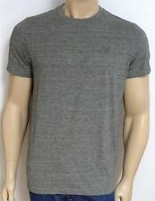 American Eagle Outfitters AEO Mens Heather Gray Solid Crew-Neck T-Shirt NWT