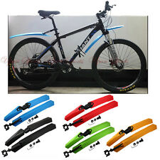 Mountain Road Bike Bicycle Front Rear Mudguard Fender Easy Adjustable Mud Guard