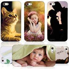 Personalized Picture Photo Case For Apple iPhone 5 5S 4 4S - Custom Picture Case