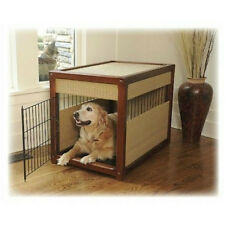 Mr. Herzher's Deluxe Pet Residence Wicker RATTIN DOG CRATE
