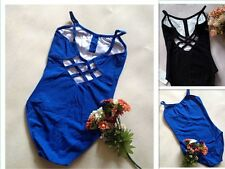 NEW BALLET DANCE PRINCESS LINE CAMISOLE PINCH FRONT LEOTARD