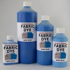 BABY BLUE Liquid Fabric Dye for Sofa, Clothes, Denim, Upholstery etc. ALL SIZES