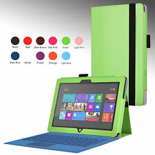 "For Microsoft Surface Pro Pro 2 10.6"" Tablet Case Cover Stand w/ Hand Strap NEW"