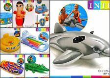 Intex Inflatable Blow Up Toys & Swimming Ring Dolphin Lilo Pool Beach Water Fun