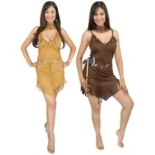 Pocahontas Costume Adult Halloween Fancy Dress