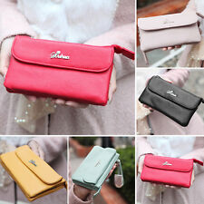 Women's Fashion Long Purse Wallet DP183  Checkbook Wallet Stylish Button Wallet