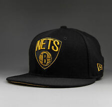 NEW ERA Brooklyn Nets Gold NBA London Live 59Fifty Fitted Cap black - 10985614